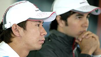 Kobayashi and Pérez confirmed at Sauber for 2012