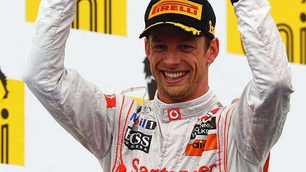 Jenson Button wins mixed up race in Hungary