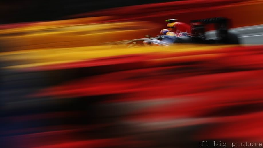 Mark Webber secures a second place finish after re-signing with Red Bull for 2012