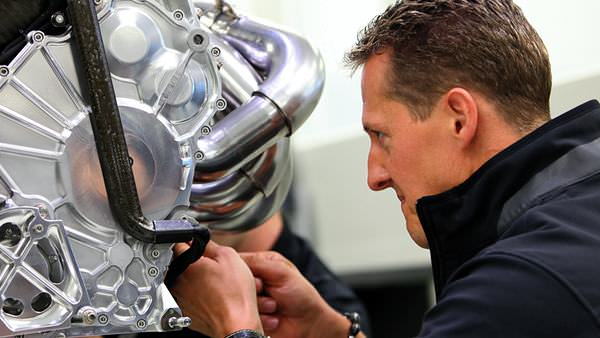 Michael Schumacher pays close attention to his craft