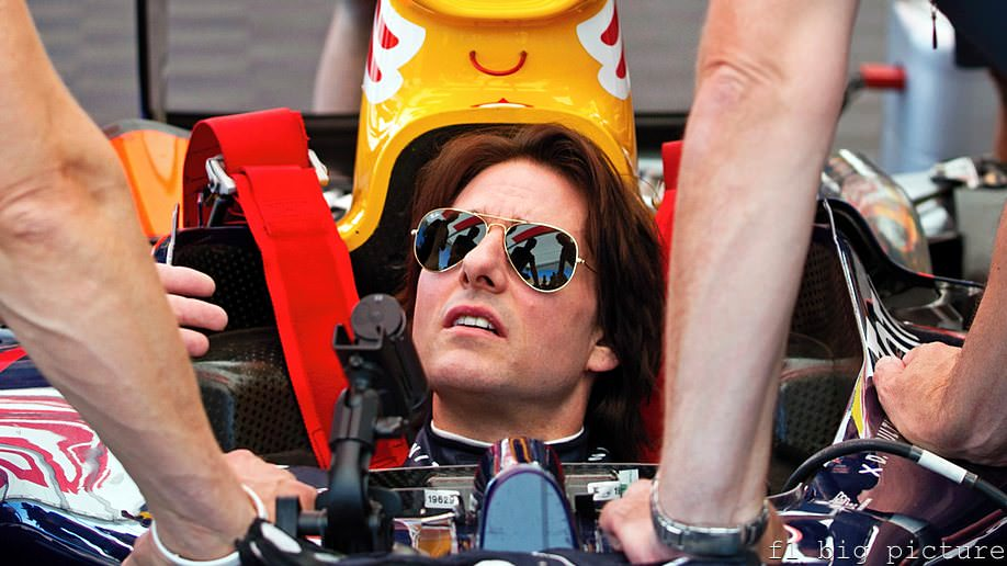 Red Bull invite Tom Cruise to a top secret test in the US
