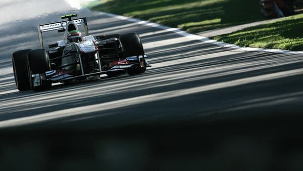 Putting in the miles at Monza