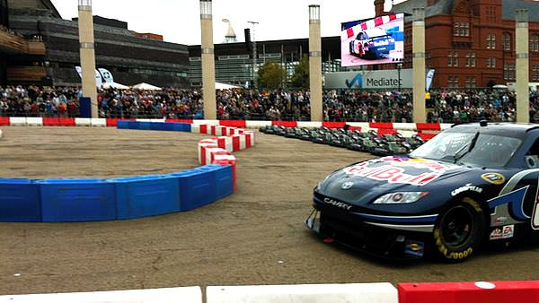 NASCAR comes to Cardiff