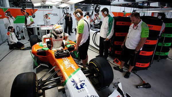 Force India hope to outqualify Sauber in Korea today