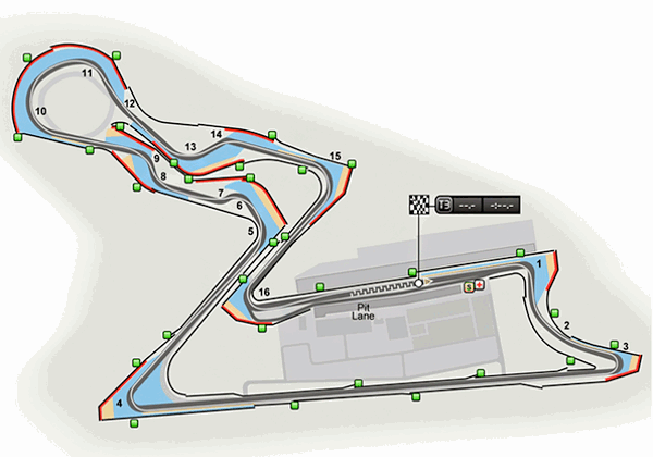 Buddh International Circuit Map