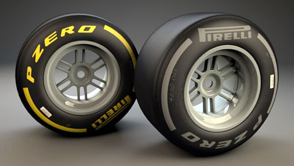 Soft (yellow) and hard (silver) compounds will be used in India, with the hard tyre making its final appearance of the season