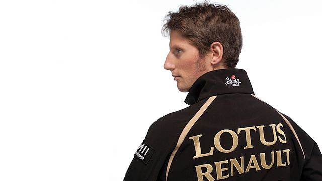 Romain Grosjean to partner Räikkönen for 2012