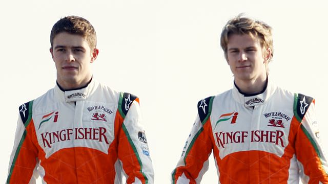 Paul di Resta and Nico Hülkenberg named at Force India