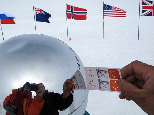 F1Minute at the ceremonial South Pole