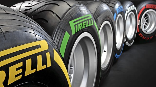 Pirelli reveal new tyre markings for 2012 season