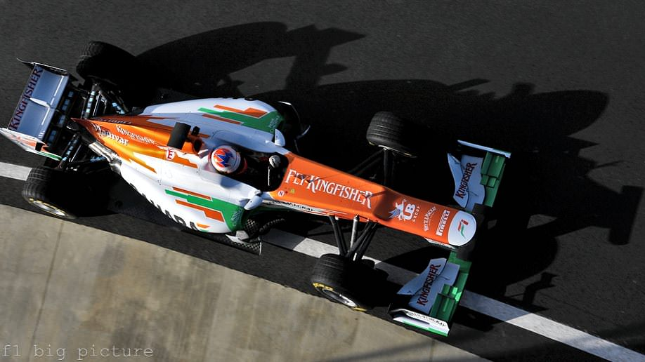 Force India reveal the VJM05, ready to race for fifth place in 2012