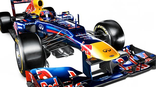 Defending champions Red Bull launch the RB8