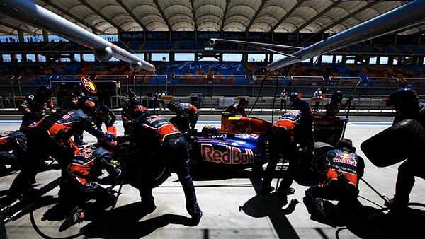 Red Bull are the team to beat for 2012