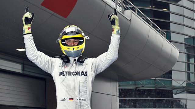 Rosberg converts pole position to maiden win in China
