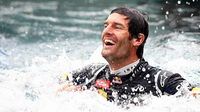 Mark Webber wins from pole position in Monaco