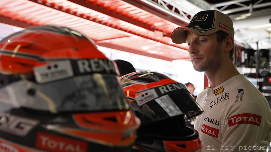 Romain Grosjean confident after promising Friday practice