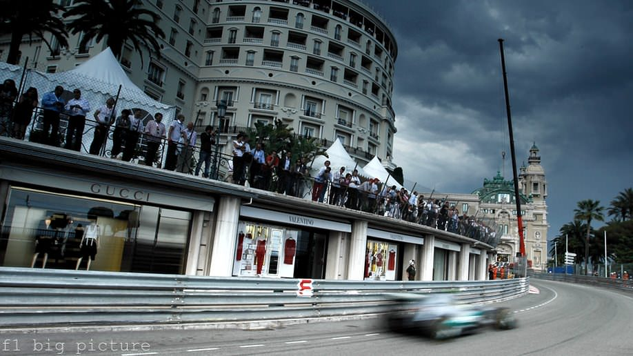 Clouds roll in over Monaco as Free Practice Thursday turns wet