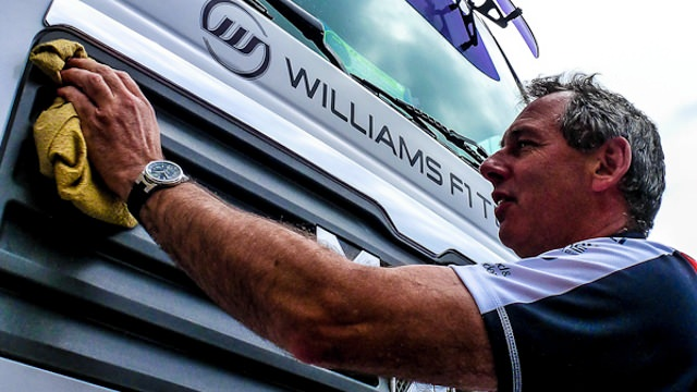 Williams truck gets a wash