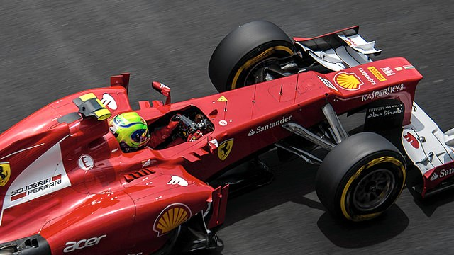 Massa back on form in the principality