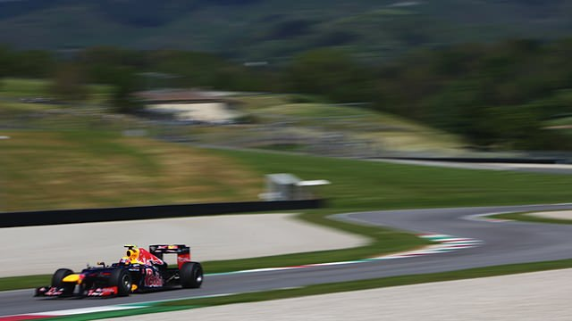 Webber unwinds at Mugello