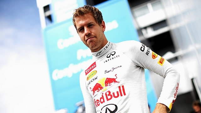 Sebastian Vettel secures pole position for the European Grand Prix
