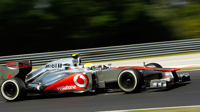 Lewis Hamilton puts McLaren on top for practice in Hungary