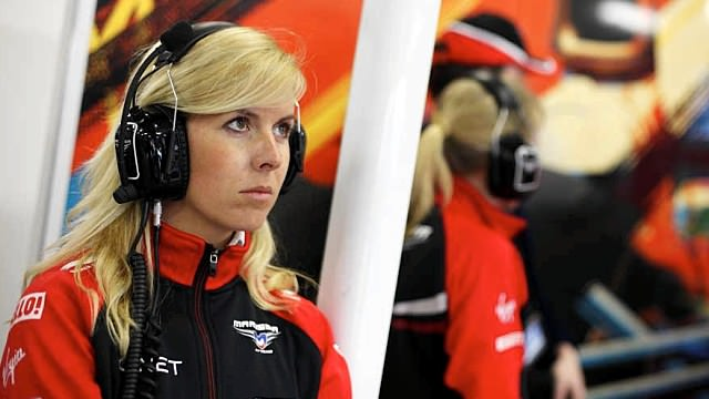 María de Villota in hospital following Marussia straight line test accident