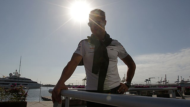 The sun sets on Michael Schumacher