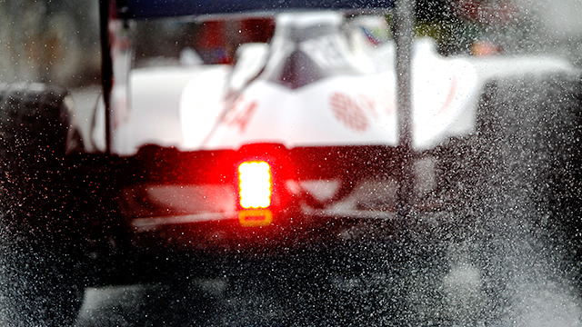 F1 battles the weather in 2012