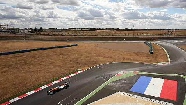 Jules Bianchi tops second day of testing in Magny-Cours