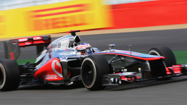 Jenson Button secures first pole for McLaren at Spa