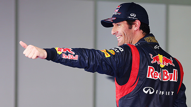 Mark Webber pips Sebastian Vettel to Korean pole position
