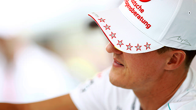 Michael Schumacher retires from Formula One a second time