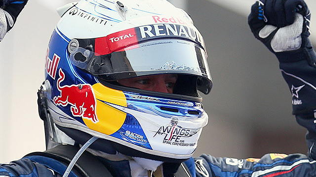 Vettel moves into championship lead after win in Korea