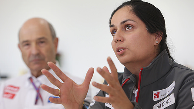 Monisha Kaltenborn takes over team principal role at Sauber
