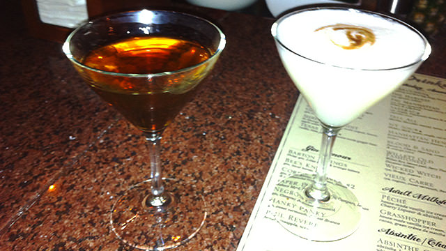 Austin's burgeoning cocktail culture - nothing like an absinthe cocktail or two