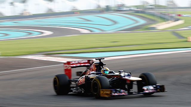 Six teams kick off Young Driver testing in Abu Dhabi