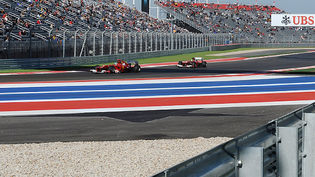 Alonso leads Massa in Austin