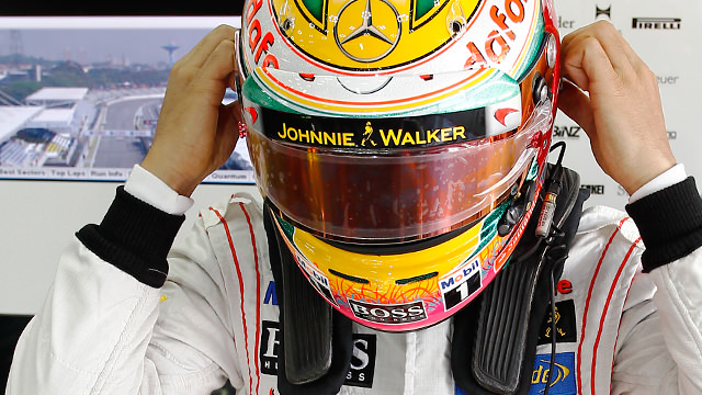 Lewis Hamilton leads both practice sessions in Brazil