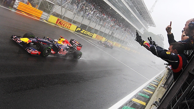 Sebastian Vettel wins the 2012 F1 World Championship