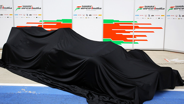 Force India reveal launch date for 2013 car