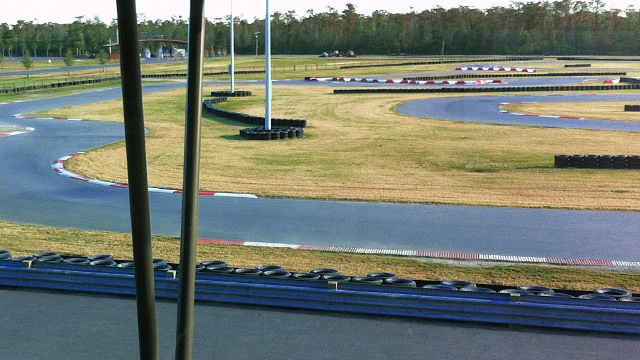 The beautiful karting vista