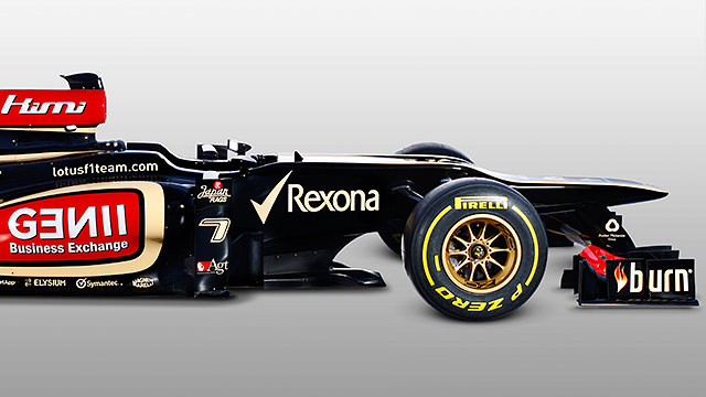 Lotus unveil the E21 during online launch from Enstone