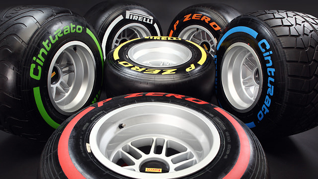 New rubber for F1 in 2013