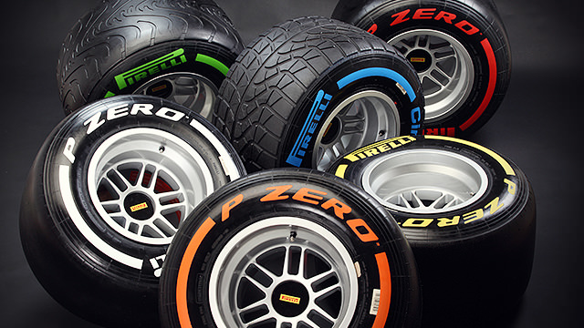 A brand new set of Pirelli