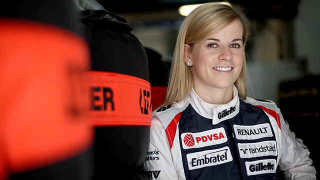 Williams retain Susie Wolff for 2013 development role