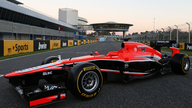 Marussia roll out the MR02