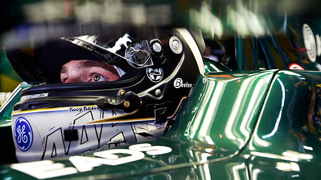 Caterham confirm Giedo van der Garde for 2013