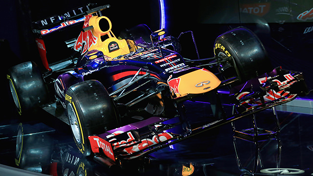 Red Bull Racing unveil the RB9 at Milton Keynes