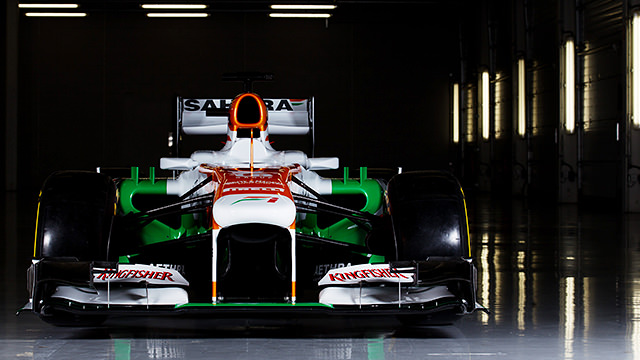 From the cover of darkness comes the Force India VJM06
